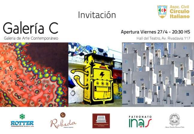 Invitacion - Inauguracion Galeria de Arte C
