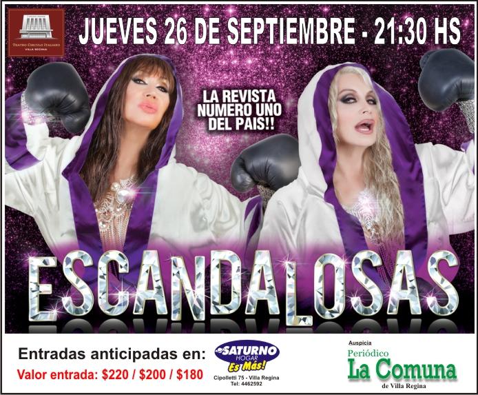 Escandalosas - Jueves 26 de Septiembre